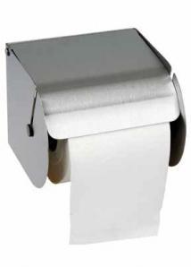 Distributeurs de papier hygiénique et accessoires DISTRIBUTEUR PAPIER TOILETTE INOX POUR ROULEAU