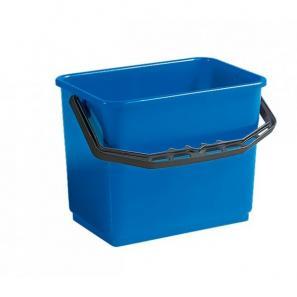 Accessoires chariots de  ménage et  lavage Seau bleu 6L