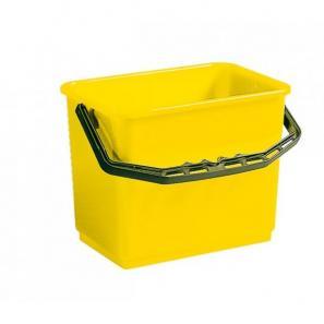 Accessoires chariots de  ménage et  lavage SEAU JAUNE 6L