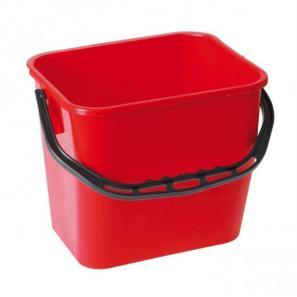 Accessoires chariots de  ménage et  lavage Seau rouge 12L