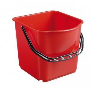 Accessoires chariots de  ménage et  lavage SEAU ROUGE 15L