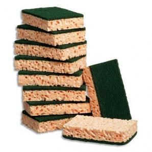 Eponges Tamponge vert 11x7cm