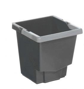 Accessoires chariots de  ménage et  lavage Seau gris 15L IDEATOP