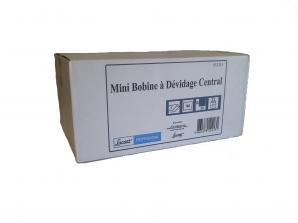 Bobine dévidage central Bobine dévidage central blanche 160 F 2 plis