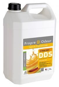 Nettoyant désinfectant DDS CITRON VERT 5L