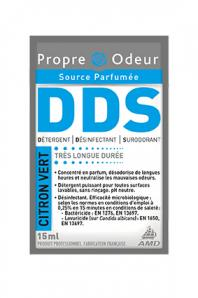 Nettoyant désinfectant DDS DOSE CITRON VERT 15ML