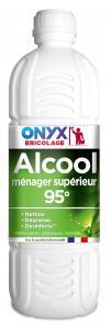 Entretien & nettoyage des surfaces ALCOOL MENAGER SUPERIEUR 95° 1L