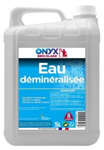 Entretien & nettoyage des surfaces EAU DEMINERALISEE 5L