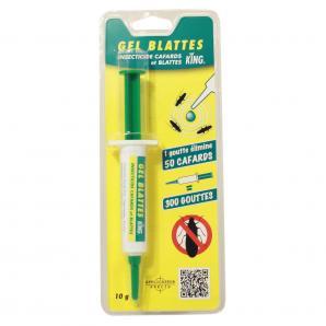 Insecticides et Répulsifs Gel en seringue spécial blattes