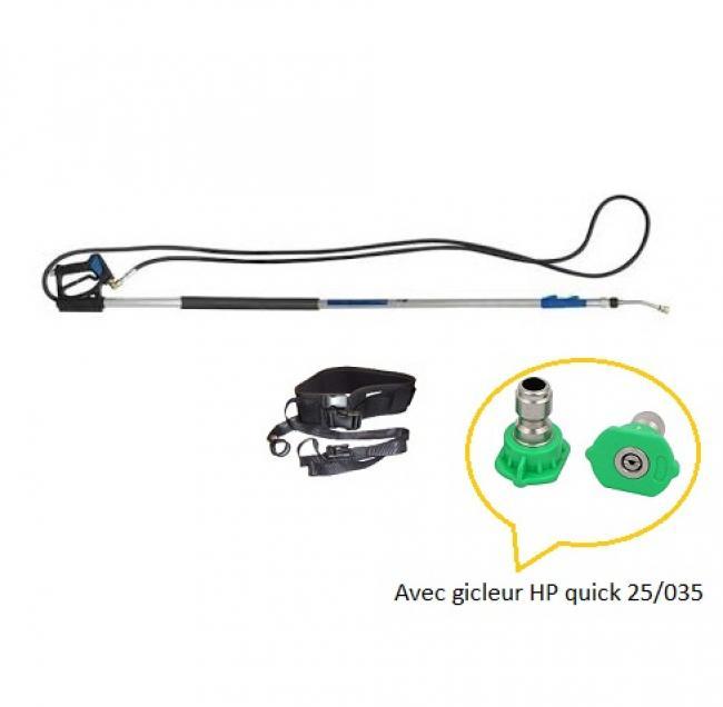 Accessoires HP optionnels Lance télescopique 2.5 M à 5.5 /M 3/8 avec harnais NHP 4550