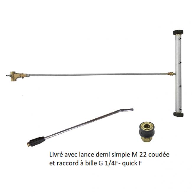 Accessoires HP optionnels Lance lavage châssis (gicleurs 04,rallonge) NHP BC 7-160/6740/70/4550