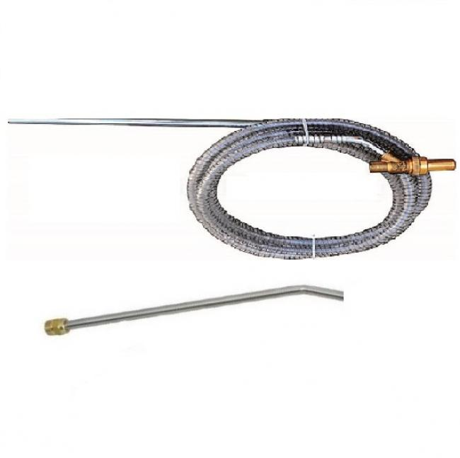 Accessoires HP optionnels Lance demi simple 50 cm M 22/150  long 500 mm kit sablage NHP PRO