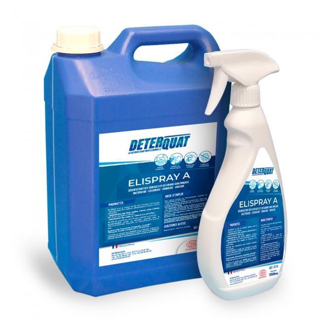 Entretien & nettoyage des surfaces Désinfectant surface ELISPRAY A