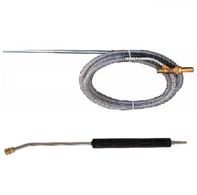 Accessoires HP optionnels Lance simple inox 70 cm M type KW kit sablage NHP AR PRO BC 10