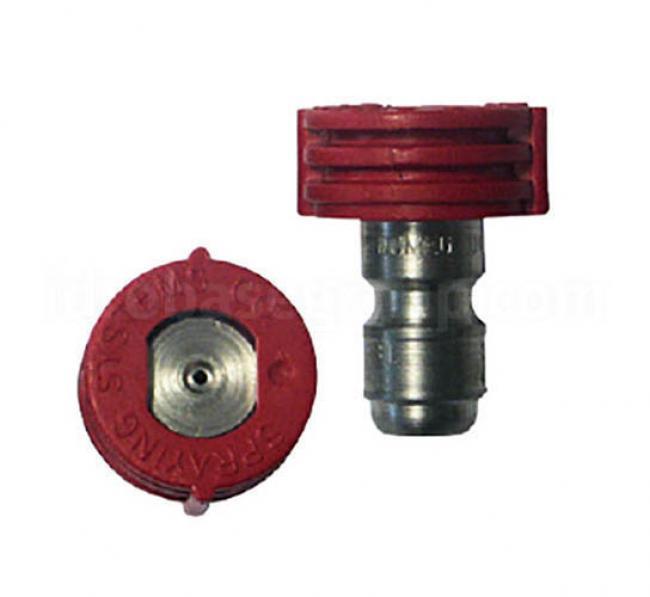 Accessoires HP de série Gicleur HP Quick 00/04 rouge NHP série AR PRO BC 14-280
