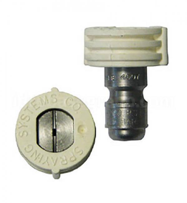 Accessoires HP de série Gicleur HP Quick 40/035 blanc NHP série AR PRO BC 10-160