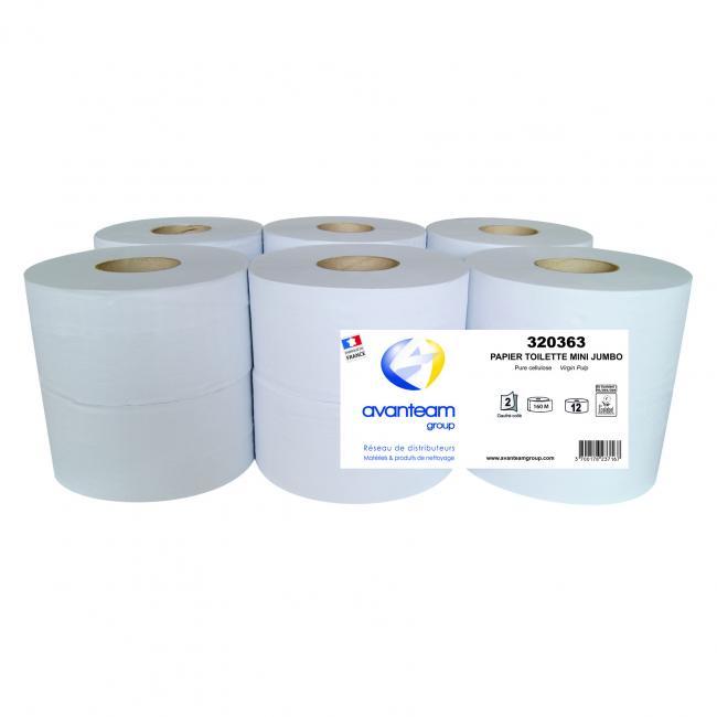 Bobines de papier hygiénique Papier toilette mini JUMBO 160M
