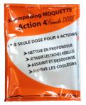 Produits moquette injection/extraction ACTION 4 DOSES