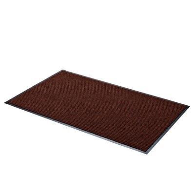tapis nomad aqua 65 brun 150x90 tapis avanteam. Black Bedroom Furniture Sets. Home Design Ideas