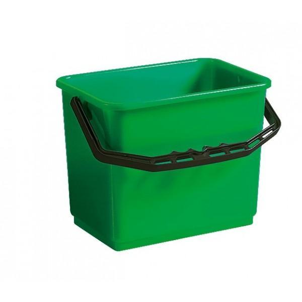 seau vert 6l accessoires chariots de m nage et lavage nettorama. Black Bedroom Furniture Sets. Home Design Ideas
