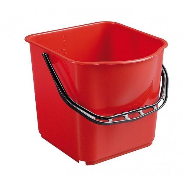 seau rouge 15l accessoires chariots de m nage et lavage aspirateurservice. Black Bedroom Furniture Sets. Home Design Ideas