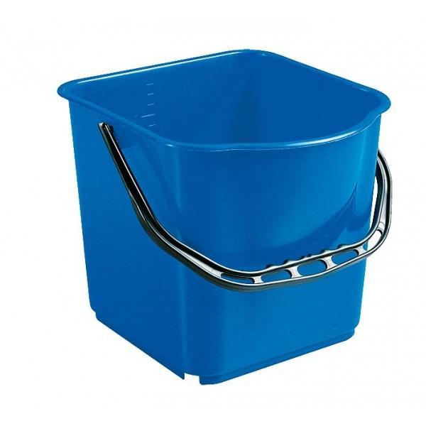 seau bleu 15l accessoires chariots de m nage et lavage avanteam. Black Bedroom Furniture Sets. Home Design Ideas